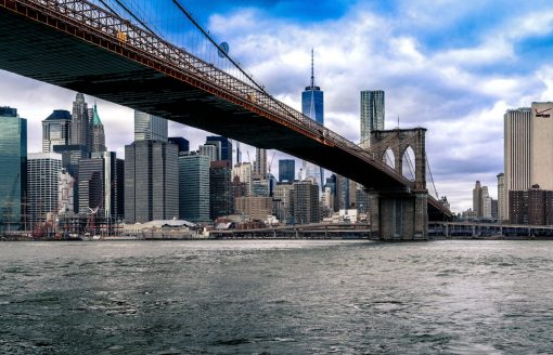 De Brooklyn Bridge in New York