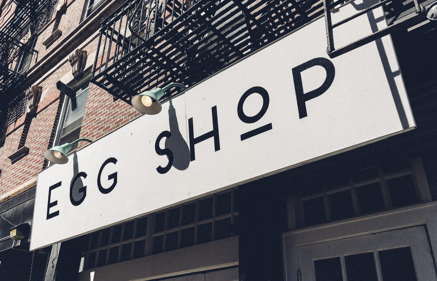 Egg Shop in New York