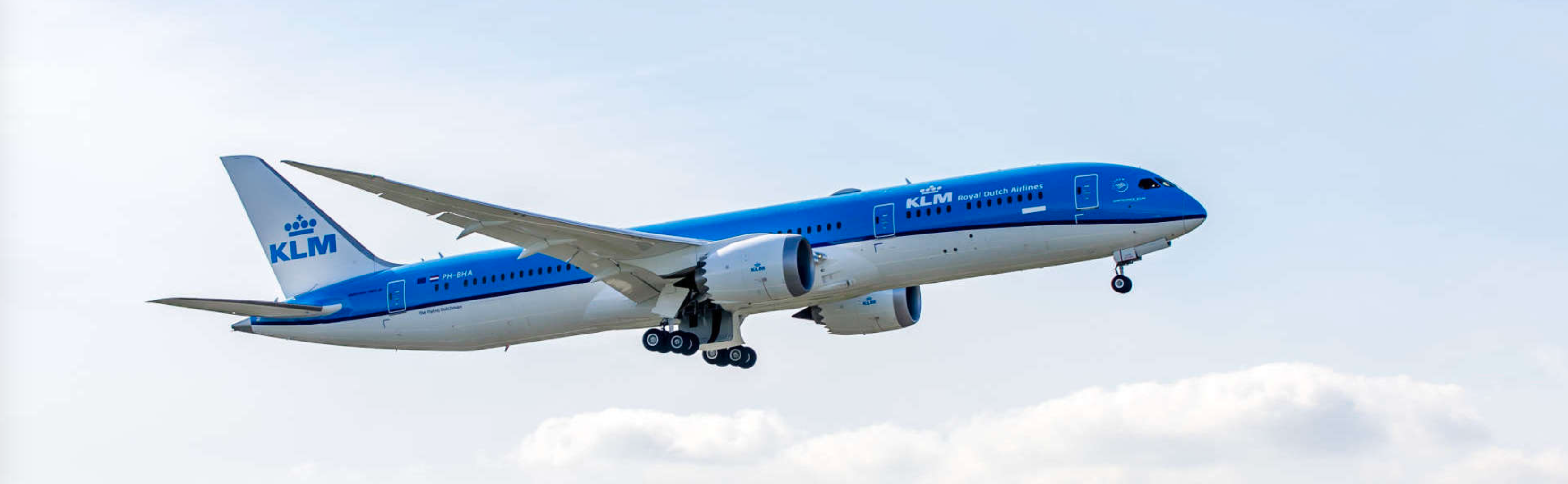 KLM Dreamliner naar New York