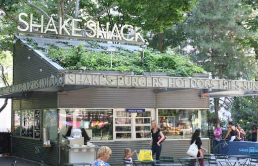 Shake Shack aan Madison Square Park