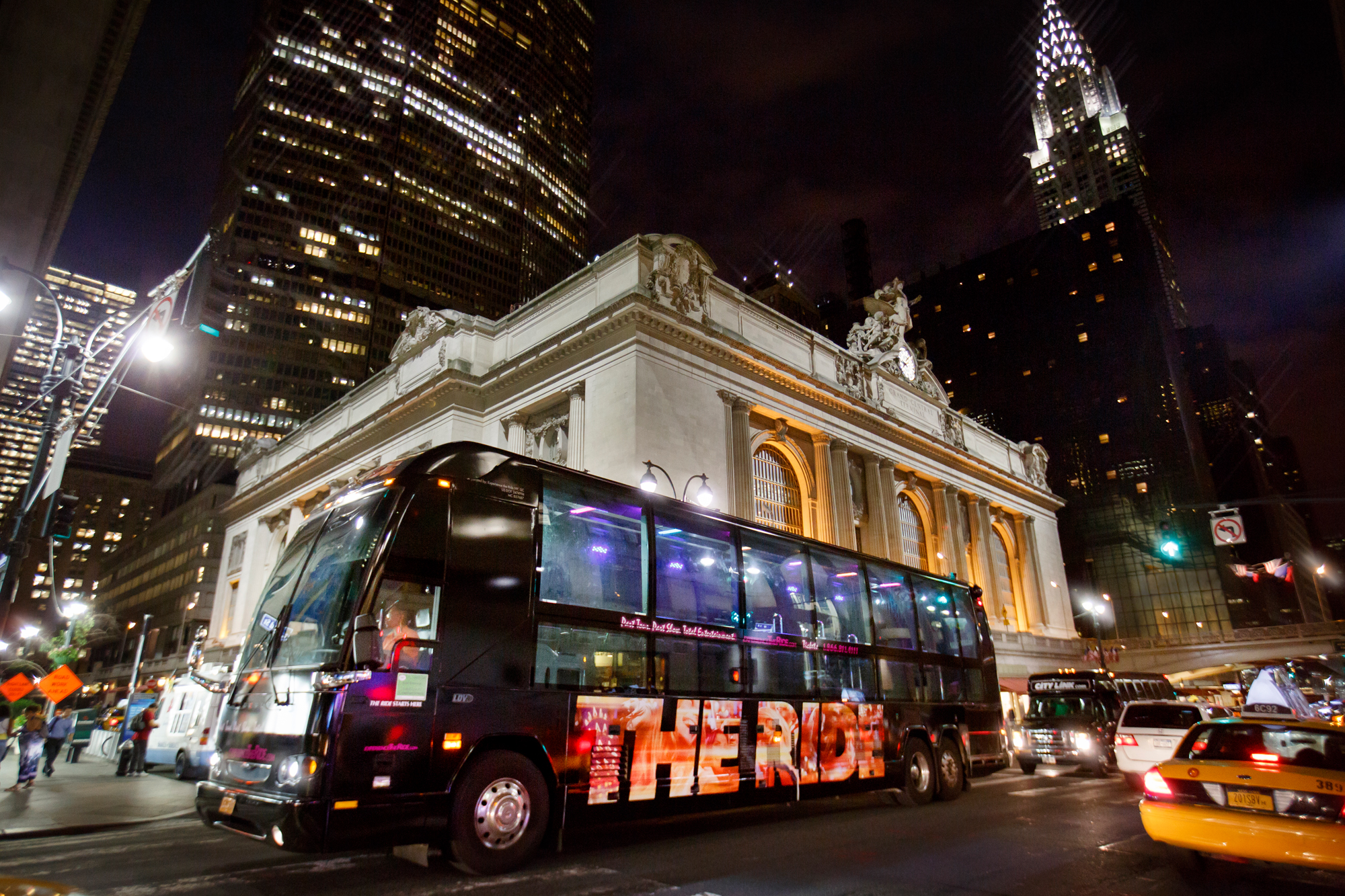 The Ride in New York voor Grand Central