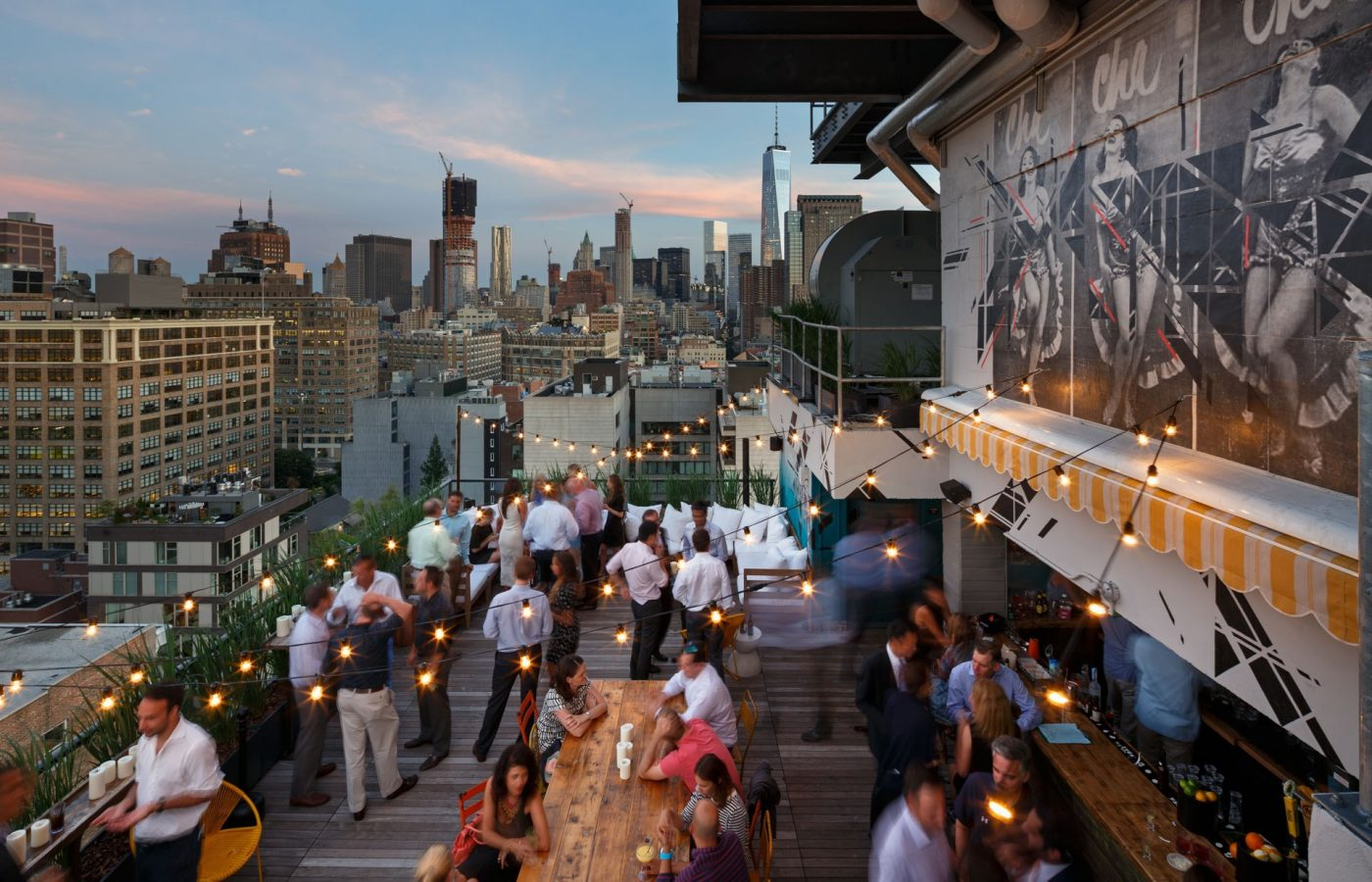 Rooftopbars in New York