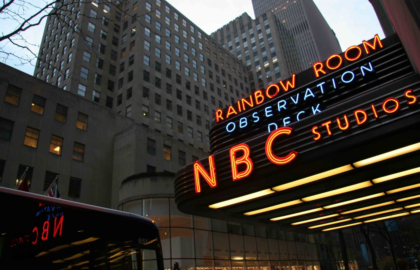 NBC Studio Tour in New York