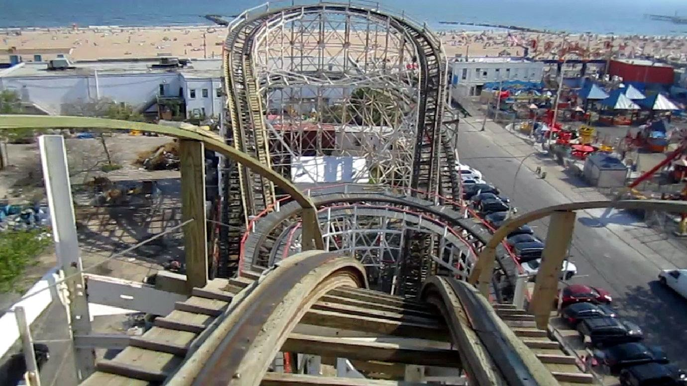 the Cyclone in Luna Park New York