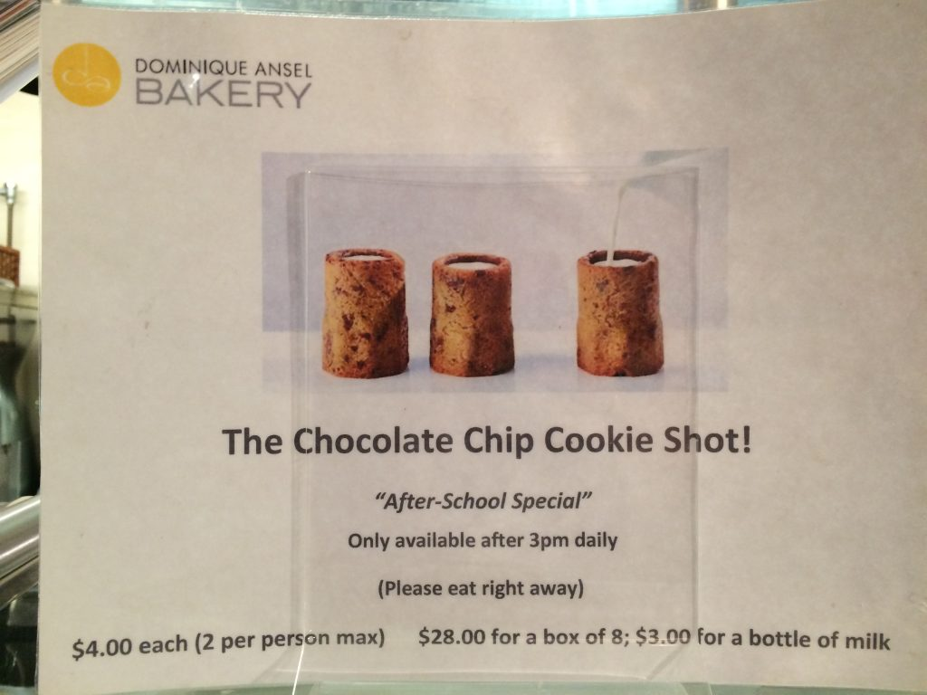 Chocolate Chip Cookie Shot